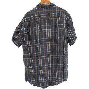J. Crew Shirts - J. Crew Men's Plaid Linen Blend Button Up Shirt